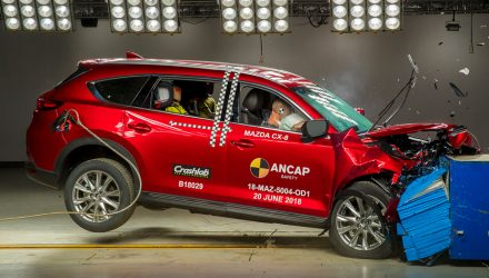 Mazda CX-8 & Volvo XC40 score 5-star ANCAP safety rating