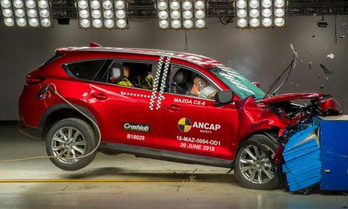 Mazda CX-8 & Volvo XC40 score 5-star ANCAP safety rating