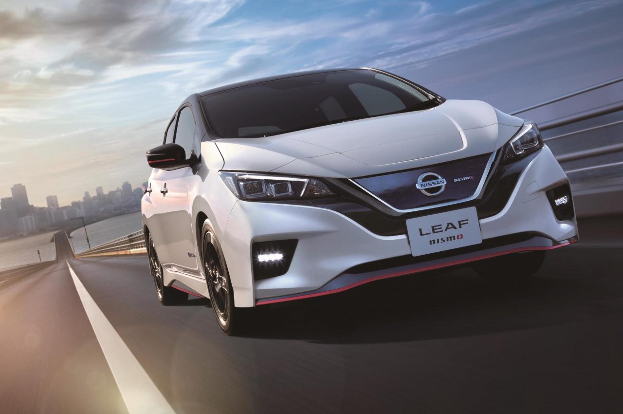 Nissan LEAF Nismo announced for first time, Japan only | PerformanceDrive