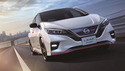 Nissan LEAF Nismo announced for first time, Japan only