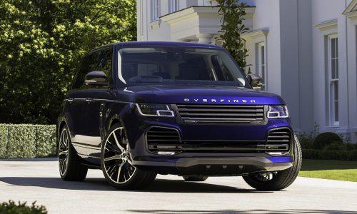Overfinch announces opulent enhancements for 2018 Range Rover