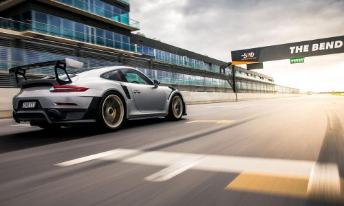 Porsche 911 GT2 RS sets pace at The Bend Motorsport Park (video)