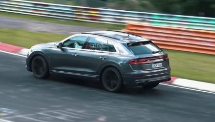 Audi SQ8 spotted testing hard at Nurburgring (video)