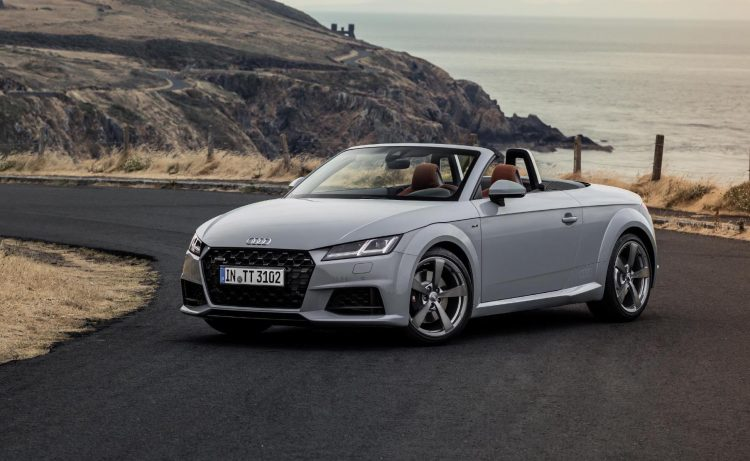 2019 audi tt revealed adds tt 20 years limited edition