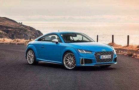 2019 Audi Tt Leaks Online Reveals Facelifted Design