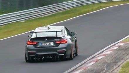 2019 BMW M4 CSL spotted, to replace hardcore GTS (video)