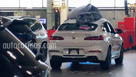 BMW X4 M spotted in clear view, to feature M3 engine