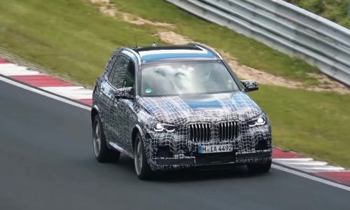 2019 BMW X5 M spotted at Nurburgring, looks fast (video)