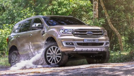 2019 Ford Everest on sale in Australia in September from $49,190