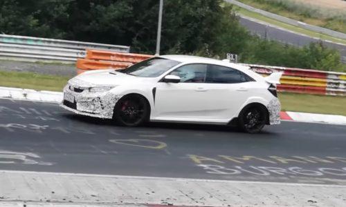 Honda Civic Type R prototype suggests updates in store (video)
