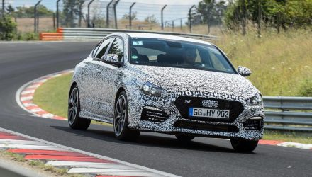 Hyundai i30 Fastback N development in final stages