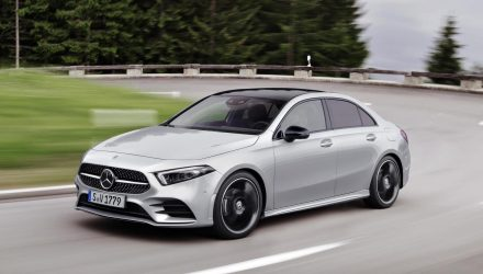 2019 Mercedes-Benz A-Class sedan revealed