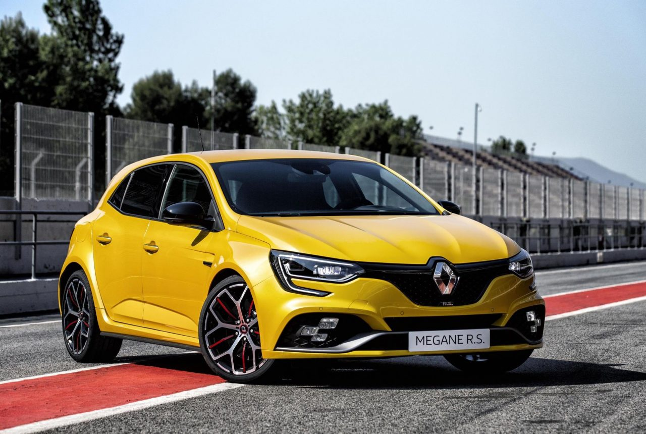 2019 renault megane rs trophy unveiled as most powerful yet performancedrive. Black Bedroom Furniture Sets. Home Design Ideas