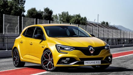 2019 Renault Megane RS Trophy unveiled as most powerful yet