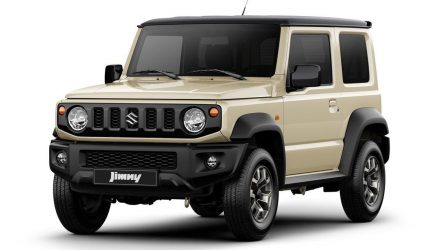 2019 Suzuki Jimny confirmed for Australia with 1.5L K15B engine