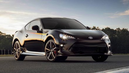 2019 Toyota 86 announced in the US, TRD variant added