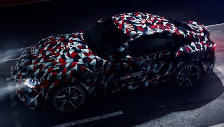 Toyota Supra previewed with production body, Goodwood debut? UPDATE
