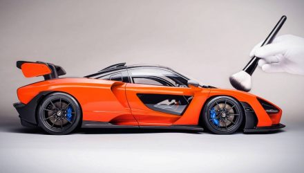 Insanely detailed McLaren Senna 1:8 scale model announced