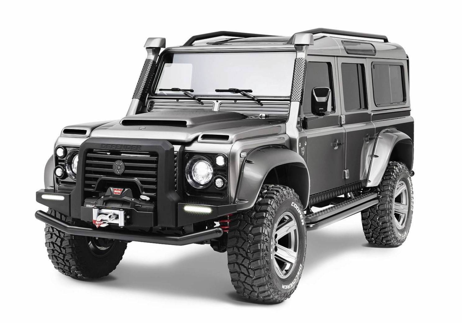 ares design recreates v8 land rover defender performancedrive. Black Bedroom Furniture Sets. Home Design Ideas