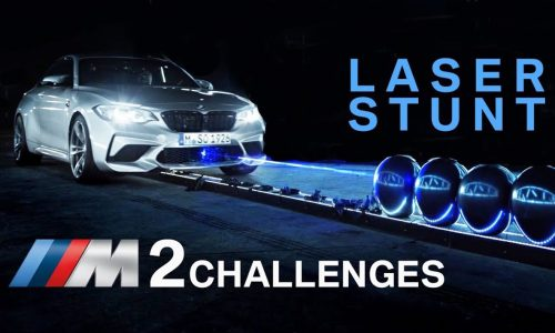 BMW M2 Competition breaks 1-minute balloon-popping record (video)