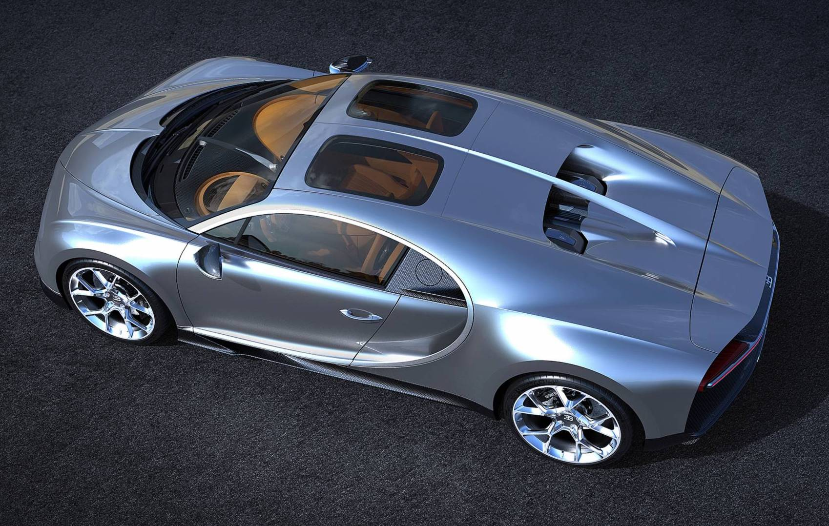 Bugatti Chiron Sky View Sunroof Option Announced