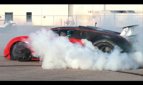 Video: Bugatti Veyron gets rear-wheel drive conversion