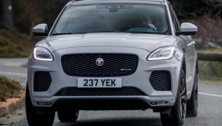 Jaguar C-PACE trademark found, for new coupe SUV?