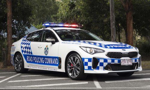 Kia Stinger police cars confirmed for Queensland force