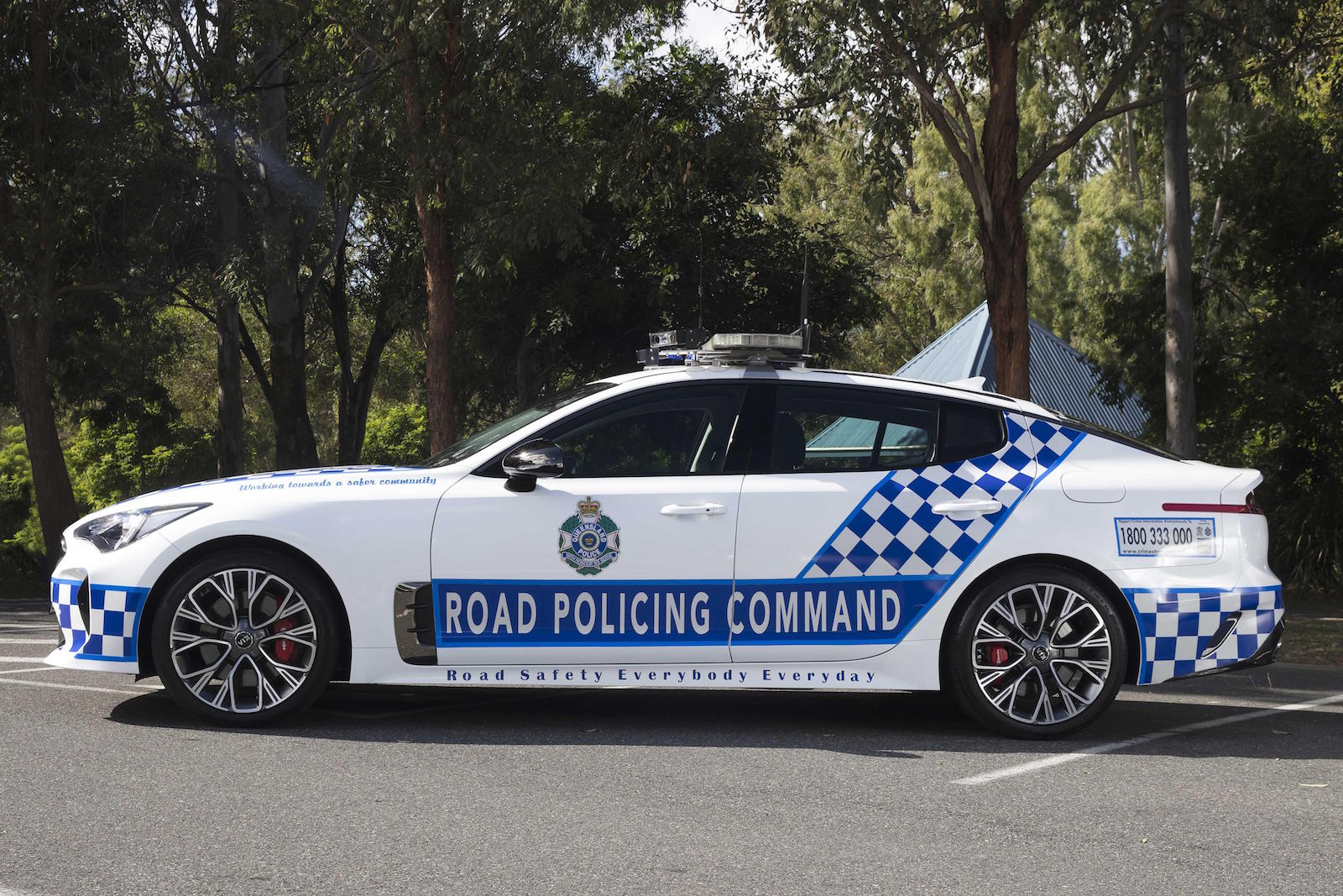 kia stinger police cars confirmed  queensland force performancedrive