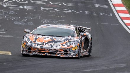 Lamborghini Aventador SVJ breaks Nurburgring lap record (video)