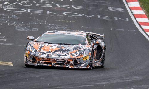 Lamborghini Aventador SVJ breaks Nurburgring lap record (video)