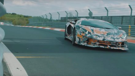 Lamborghini Aventador SVJ confirmed with Nurburgring preview (video)
