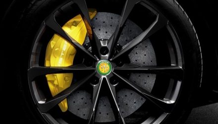 Jaguar-based Lister Lightning shows off its massive brakes