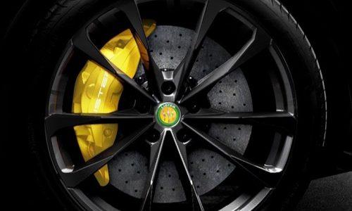 Jaguar-based Lister Lightning shows off its massive brakes