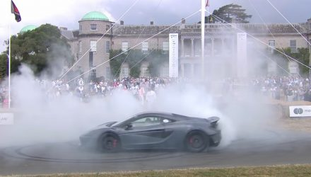 McLaren 600LT debuts at Goodwood Festival (video)