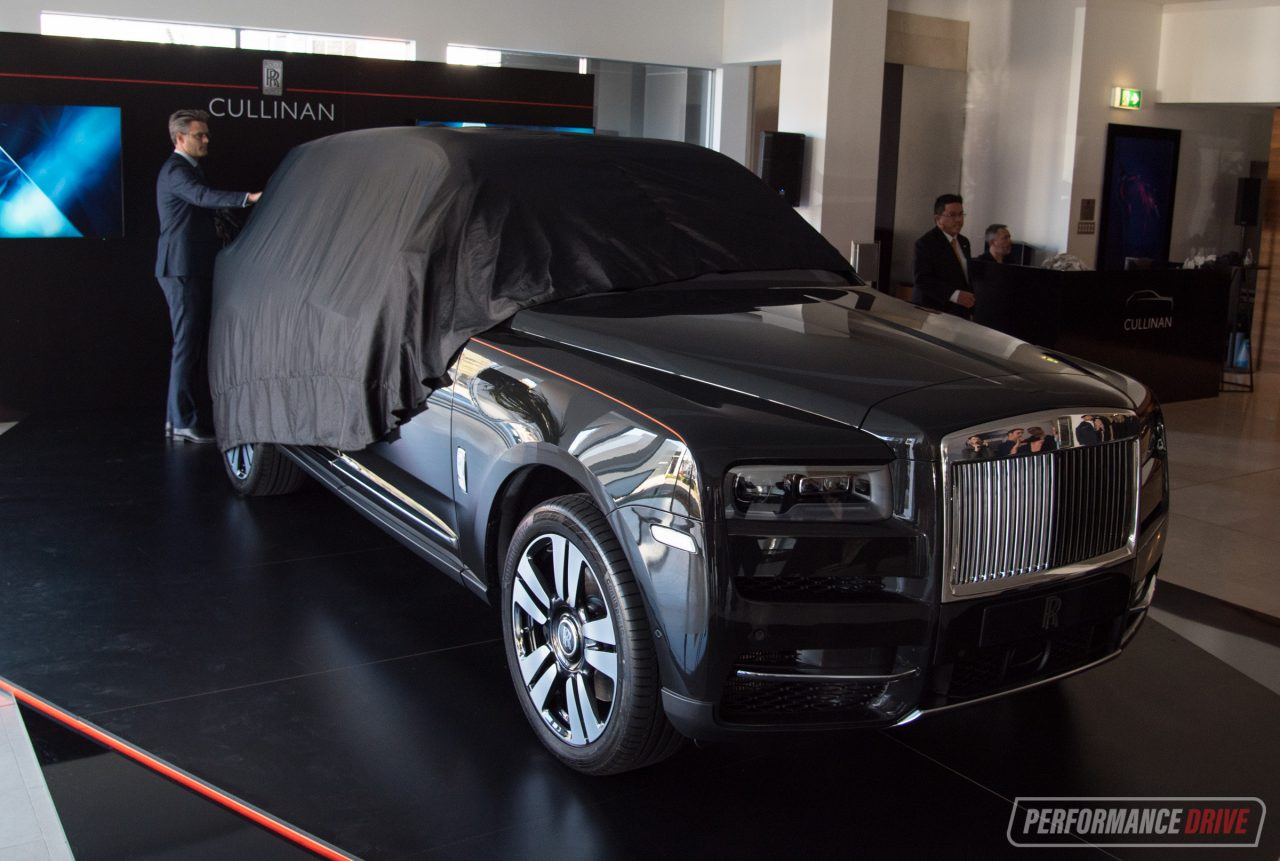 Rolls-Royce Cullinan debuts in Australia, on sale from ...