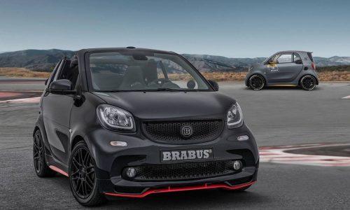 Brabus 125R converts Smart ForTwo cabrio into racy city car