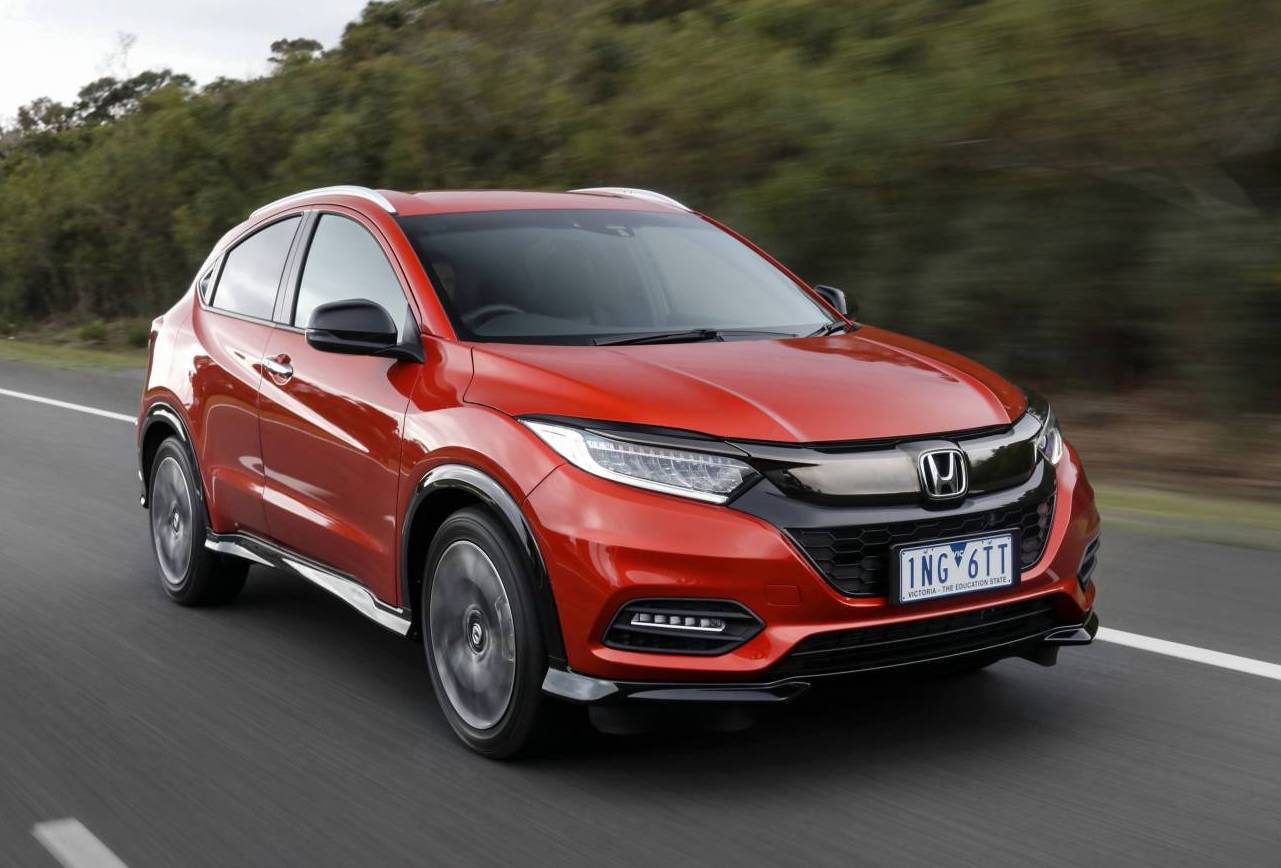 2018 honda hr v now on sale in australia with rs variant. Black Bedroom Furniture Sets. Home Design Ideas