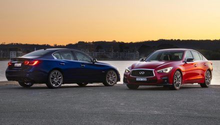 Infiniti Q50 & Q60 updated for Australia, big price cuts