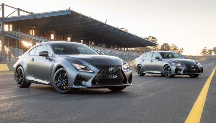 Lexus RC F & GS F 10th anniversary editions announced for Australia