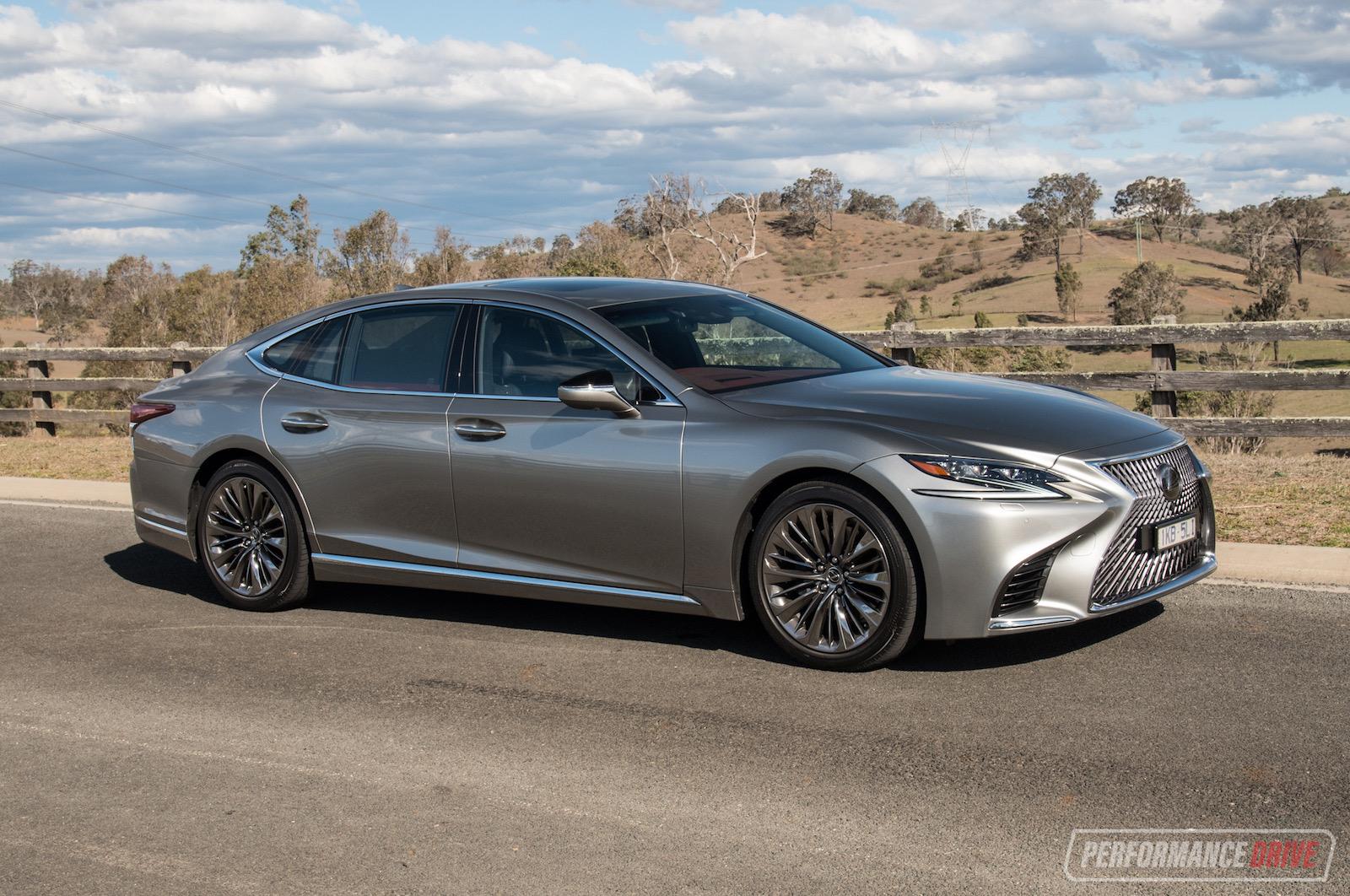 2018 Lexus LS 500 twin-turbo review (video)