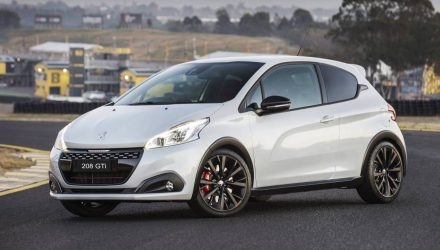 Peugeot 208 GTi Edition Definitive now on sale in Australia