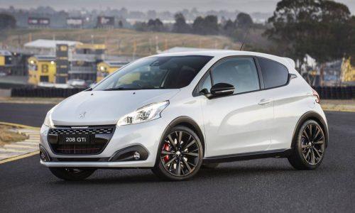 Peugeot 208 GTi Edition Definitive now on sale in Australia