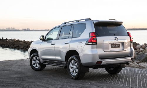 Toyota Prado now available with relocated spare wheel option