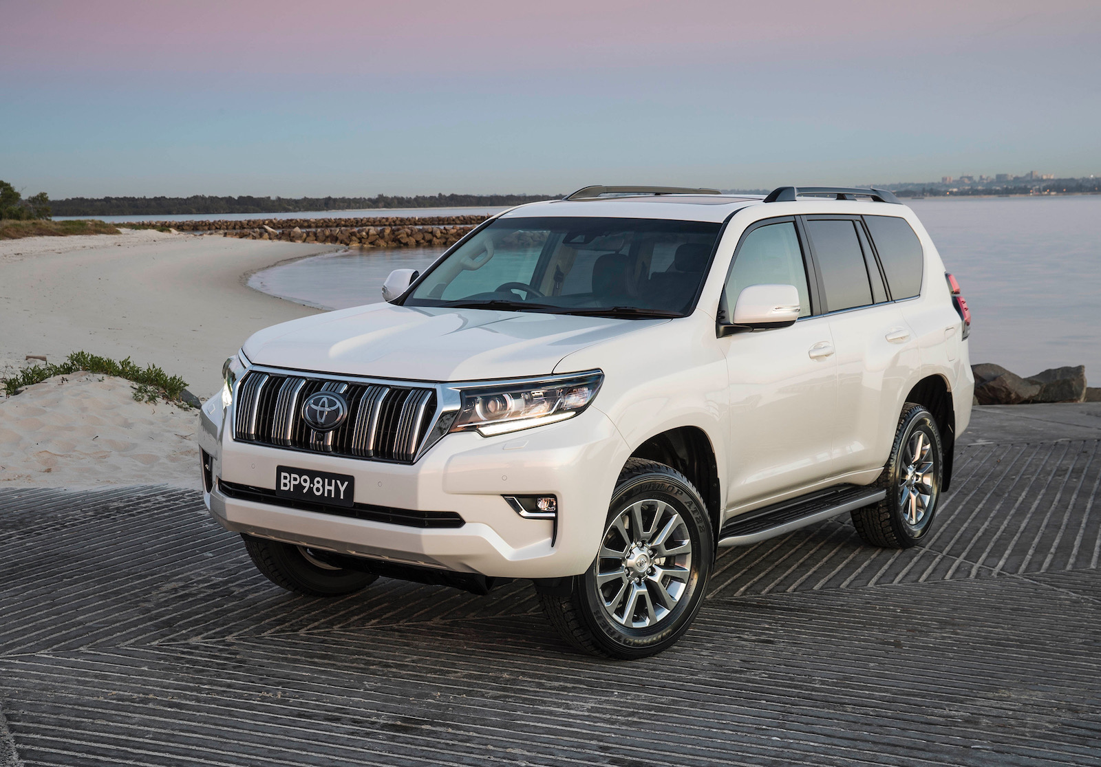 Toyota Prado Now Available With Relocated Spare Wheel