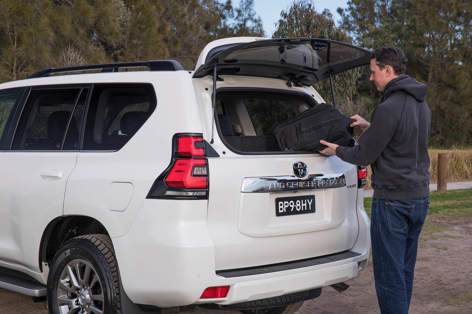 Prado Auto Sales >> Toyota Prado now available with relocated spare wheel ...