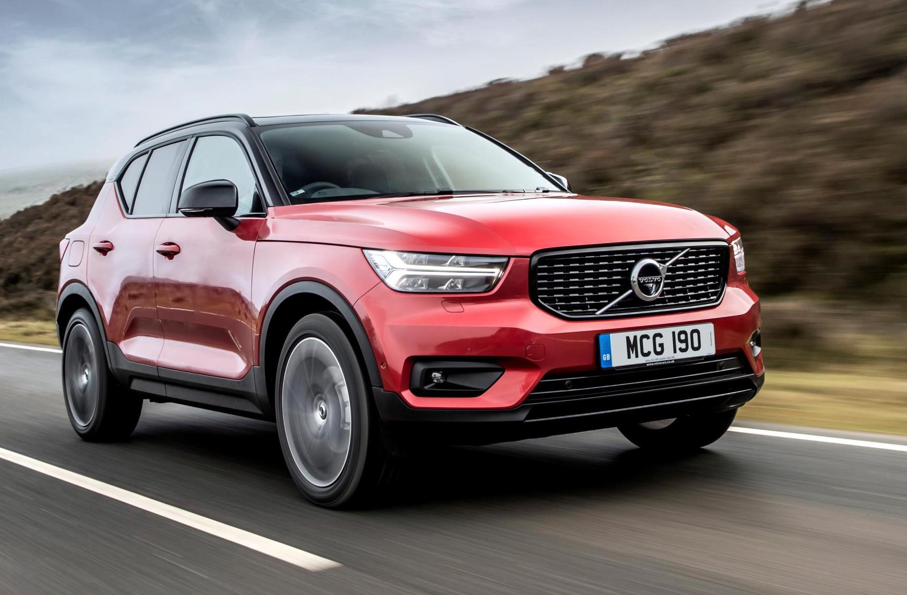 Image result for Volvo XC40 red