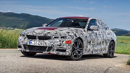 2019 BMW 3 Series 'G20'; extensive details confirmed
