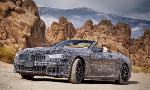New BMW 8 Series convertible undergoes extreme hot weather testing
