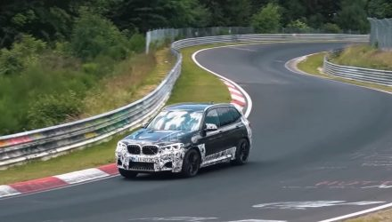 2019 BMW X3 M spotted at Nurburgring, sounds just like M3/M4 (video)